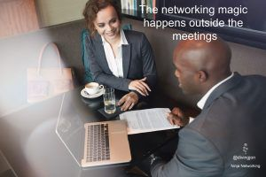 Building a networking relationship