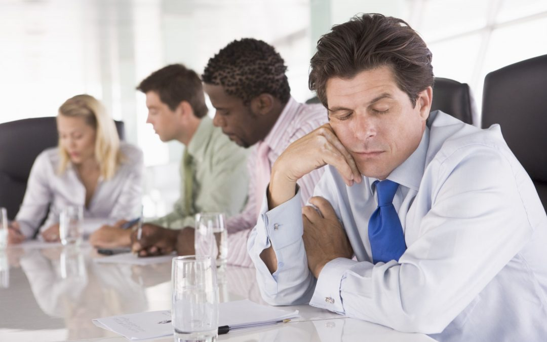 What's the problem with meetings?