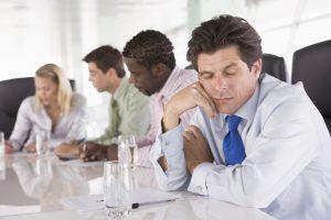 Bored meeting or board meeting