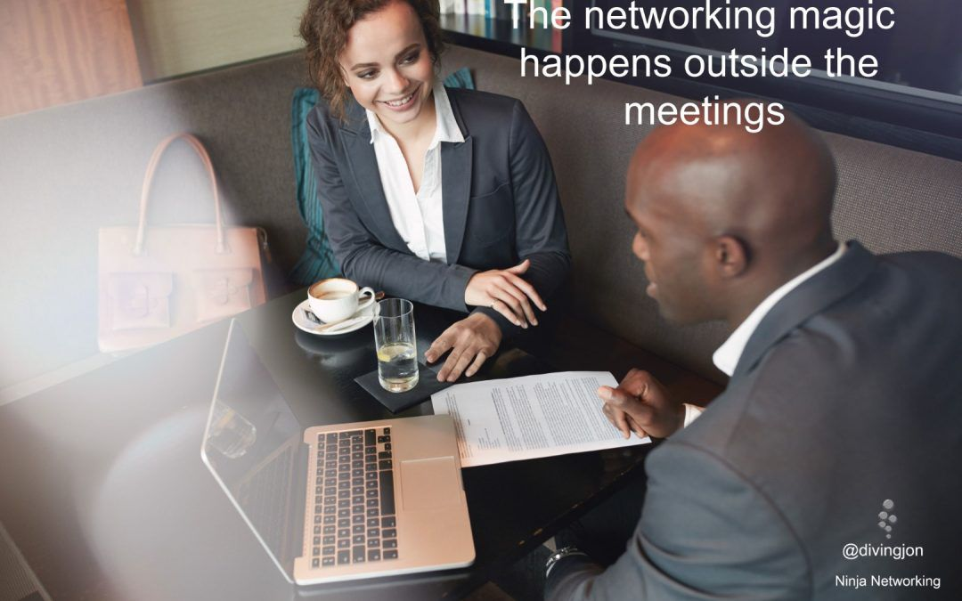 Arriving early to network as an introvert?