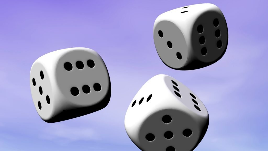 Rolling dice for decision making is OK